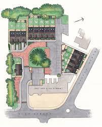 site plan d watercolour pen u0026 ink richard has over twenty