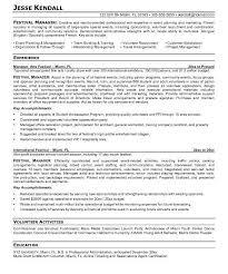 Resume Event Planning Event Manager Resume Lukex Co