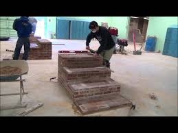 design build brick steps youtube