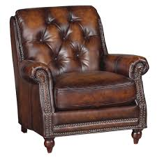 classic chair classic traditional brown leather chair westbury rc willey