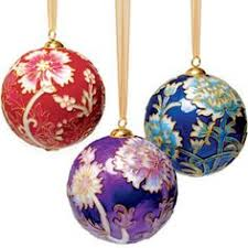 christmas ornament sets william morris compton cloisonné christmas ornament pink
