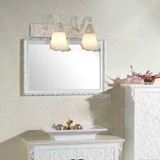 Small Wall Sconces 2 Light Small Wall Sconces Mirror Front Floral Shaped Shade