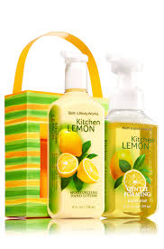kitchen lemon soap u0026 lotion carrier signature collection bath