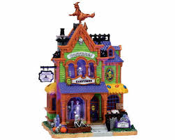 spooky town lemax spooky town agatha s costume crypt with adaptor 75494