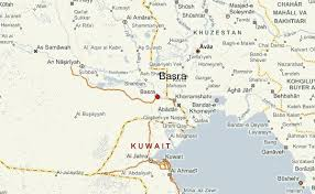 map of basra basra map iraq major tourist attractions maps