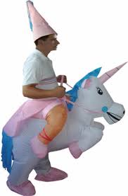 Riding Costumes Halloween Inflatable Unicorn Costume U0027s Inflatable Riding