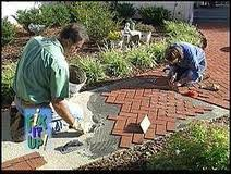 Concrete Patio Bricks What Is The Best Way To Lay Brick Pavers On Concrete Porch Home