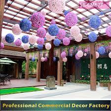 custom commercial summer shopping mall flower decoration for