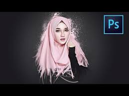 tutorial smudge painting indonesia photoshop tutorial smudge painting and dispersion effect youtube