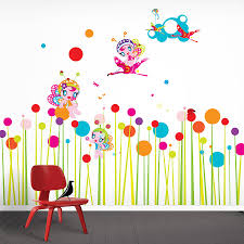 flower wall stickers flower fairies wall stickers