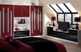 Delighful Dark Red Bedrooms Modern Style With And Black Yeah These - Dark red bedroom ideas