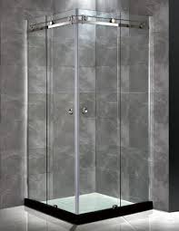 Cheap Shower Door China Corner Shower Door With 2 Silding Door Without Frame
