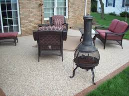cute outdoor patio floor covering with additional budget home