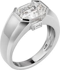 cartier platinum rings images Crh4214200 high jewellery ring platinum diamonds cartier png