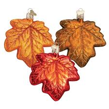 maple leaf ornament ornaments callisters