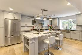 Rectangular Island Light Rectangle Chandelier Kitchen Transitional With Chandelier Kitchen
