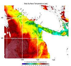 Current Temperature Map California Diversion Schmidt Ocean Institute