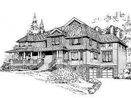 luxury craftsman style home plans amalfi luxury craftsman home plan 071s 0043 house plans and more