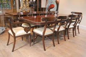 Chippendale Dining Room Furniture Antique Dining Sets Mahogany Walnut Regency
