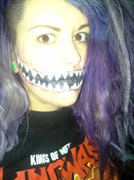 halloween how to monster mouth make up tutorial youtube