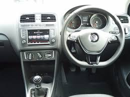 volkswagen polo white second hand volkswagen polo 1 4 tdi bluemotion tech se 5 door for