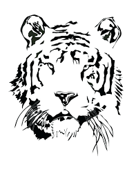 coloring page tiger paw tiger color pages tigers coloring pages coloring kids coloring pages