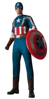 captain america costume halloween suit for and kids