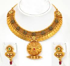 ladies necklace sets images Gold wedding rings indian bridal gold jewellery designs with price jpg