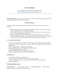 Resume Examples For Physical Therapist by Security Officer Resume Kevin Lindsay Security Guard Resume 8