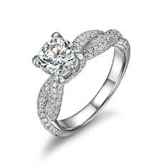 rings solitaire designs images 1ct unique designer solitaire white gold diamond engagement gold jpg