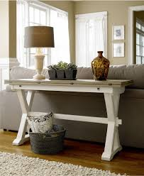 console table used as dining table versatile console table with a fold out leaf use as a desk