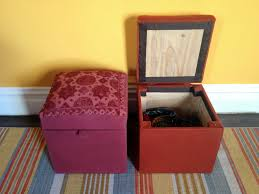 Make Storage Ottoman by Pouf Ottoman With Storage 8 Steps With Pictures