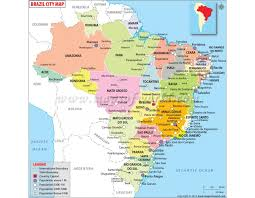 south america map buy buy brazil map with cities brazil country maps and brazil cities