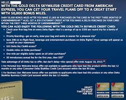 delta gold business card 50 000 mile offer for gold delta skymiles from amex till august 18th
