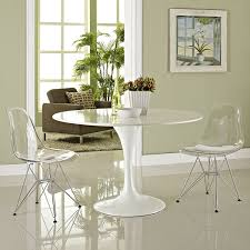 amazon com modway paris dining side chair clear set of 2 chairs