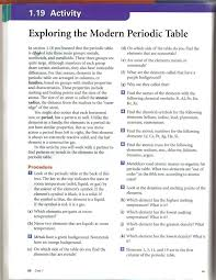modern table of elements toxic science