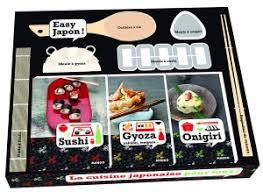 livre de cuisine japonaise coffret cuisine japonaise laure kié sushi gyoza onigiri livre