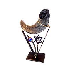 small shofar sh1small shofar holder the chabad collection