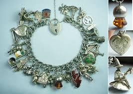 bracelet charms ebay images 213 best england uk english vintage charms bracelets images jpg