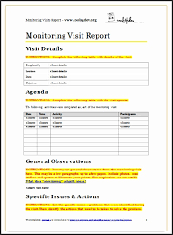 monitoring visit report template weekly flash report template fjhug unique monitoring visit report