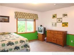 useful tractor themed bedroom with additional interior home paint