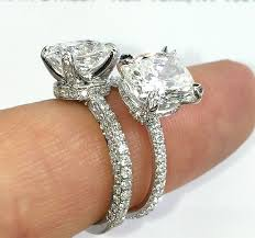 wedding rings pave images Picking the band of your engagement ring jewelry blog jpg