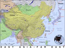 asia east map east asia domain maps by pat the free open source