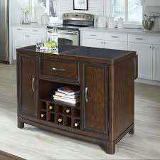kitchen islands with granite tops home styles crescent hill kitchen island with granite top