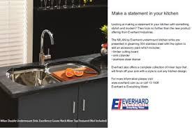 Everhard Kitchen Sinks Inax Tile Edition 2011 Catalogue