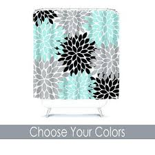 aqua and brown bathroom accessories sets shower curtain custom you