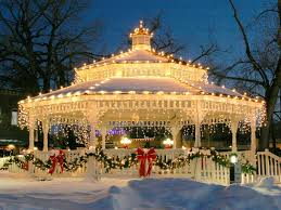 gazebo lights for christmas pictures photos and images for