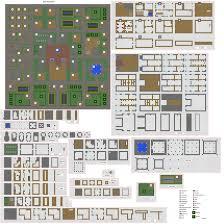 coltcoyote u0027s old village blueprints plans actually built