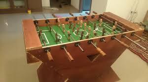 Regulation Foosball Table Handmade Wooden Foosball Table On Behance