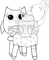 owl coloring pages kid color 5640 bestofcoloring com